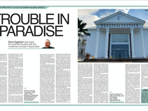Seychelles Commissioned Financial Article for City A.M.